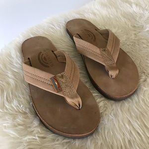Rainbow Sandals • Women's Size Small (5.5-6.5)